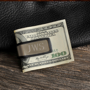 Personalized Sporty Fit Money Clip imagerjs