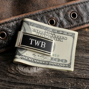 Millionaire Engravable Money Clip (Spring-Loaded) imagerjs