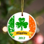 Personalized Irish Ornament (5 Designs)