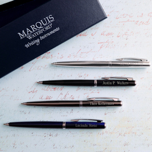 Personalized Waterford Ardmore Ballpoint Pens imagerjs