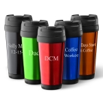 Personalized On-the-Go Travel Tumbler