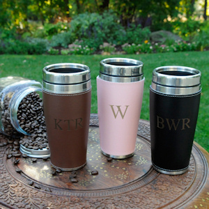 Personalized Executive Travel Tumbler imagerjs