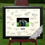 Personalized Team Coach Signature Frame