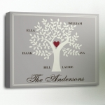 Custom Family Tree Canvas Print (3 Designs)