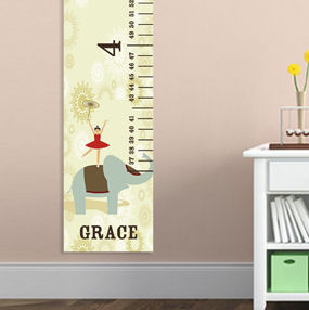 Personalized Circus Princess Height Chart imagerjs