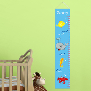 Under the Sea Personalized Height Chart imagerjs