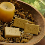 Personalized Green Tea & Olive Oil Luxury Spa Soap Trio
