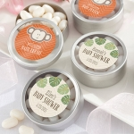 Personalized Born to Be Wild Candy Tin Shower Favors