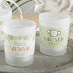Personalized Born to Be Wild Frosted Votive Favors