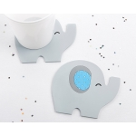 Little Peanut Blue Elephant Coaster Favors (Set of 2)