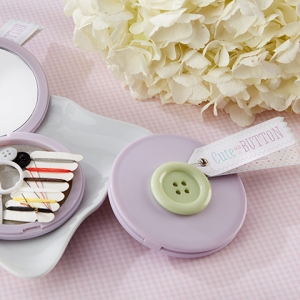 Cute as a Button Sewing Kit Baby Shower Favors imagerjs