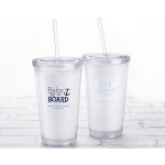 Personalized Baby Shower Printed Acrylic Tumblers