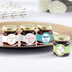 Personalized Baby Shower Strawberry Jam Favors (Set of 12)