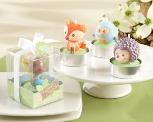 Forest Friends Woodland Candles (Set of 4) imagerjs