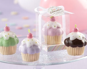 Sweet Celebration Cupcake Candles (Set of 4) imagerjs