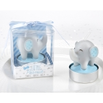 Little Peanut Blue Elephant Shaped Candle Favors (Set of 4)