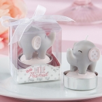 Little Peanut Elephant Baby Shower Candles (Set of 4)