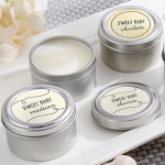Personalized 'Sweet as Can Bee' Travel Candle Favors