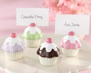 Sweet Surprise Cupcake Place Card/Photo Holder (Set of 4) imagerjs