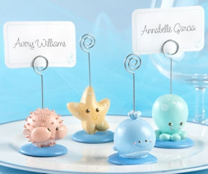 Beach Buddies Seashore Place Card/Photo Holders (Set of 4) imagerjs