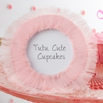 Tutu Cute Tulle Photo Frame Baby Shower Favors