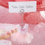 Tutu Cute Baby Place Card Holders (Set of 6)