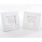 Baby Blocks Frame Favors