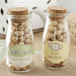 Personalized Born to be Wild Milk Jar Favors (Set of 12)