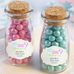 Gender Reveal Personalized Milk Jar (Set of 12)