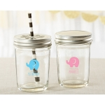 Personalized Printed Little Peanut Mason Jar (Set of 12)