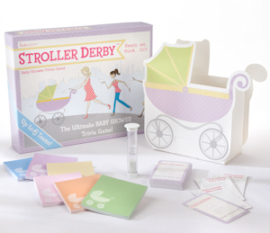 Stroller Derby Baby Shower Trivia Game imagerjs