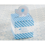 Little Peanut Blue Elephant Favor Box (Set of 24)