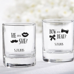 Personalized Gender Reveal Shot Glass/Votive Holders