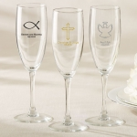 Personalized Religious Champagne Flute Party Favors