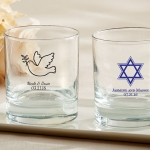 Personalized Religious Theme Rocks Glass Party Favors