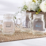 Personalized Baby Shower Mini Mason Mug Glass