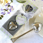 Heart-Shaped Tea Infuser Baby Shower Favor