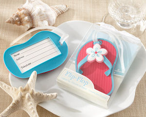 Flip Flop Beach Luggage Tag Favors imagerjs