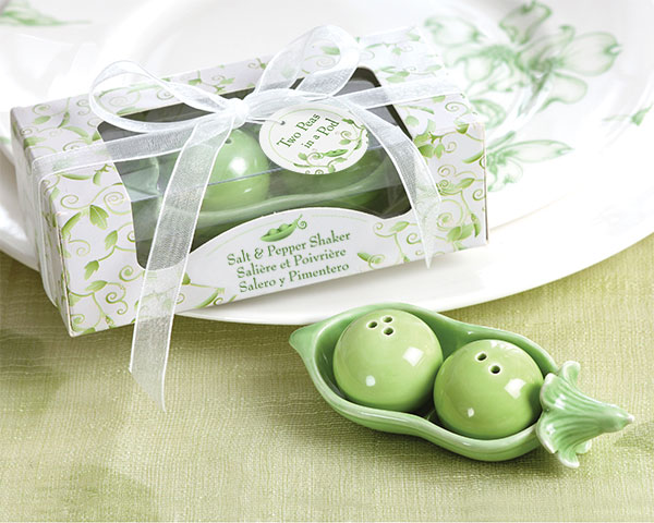twin two peas in a pod baby shower shaker favors