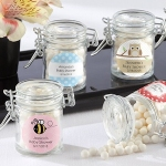 Personalized Glass Favor Jars for Baby (Set of 12)