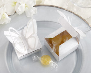 Butterfly Baby Shower Favor Boxes (Set of 24) imagerjs