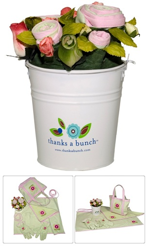 Garden Theme Thanks a Bunch Bucket imagerjs