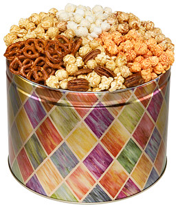 Diamond 6-Way Snack Tin image