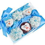Winter Brownie Gift Box