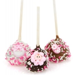 Baby Girl Brownie Stix Favors