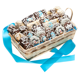 Winter 30 Piece Dessert Gift Basket imagerjs