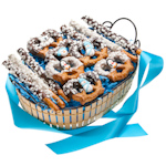 Winter Pretzel Gift Basket