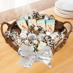 Winter Wishes Large Holiday Dessert Basket
