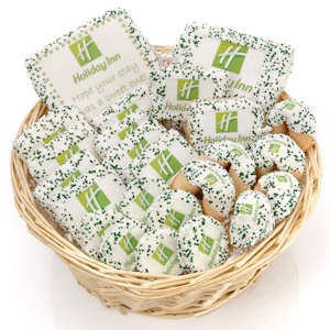 Deluxe Corporate Logo Cookie Basket imagerjs