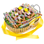 Happy Birthday Pretzel Gift Basket